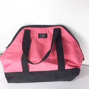 Polo Pink Black Travel On The Go Beach Bag Tote